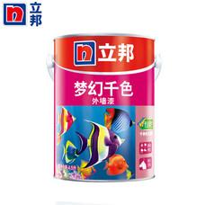 立邦梦幻千色面漆外墙乳胶漆4.5L