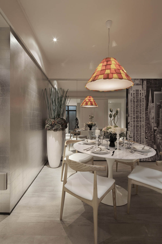 小户型北欧风格家餐厅设计图