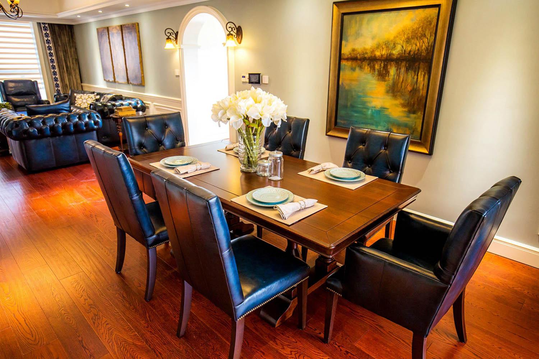 150平美式风格家餐厅设计