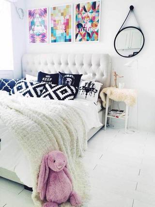 小户型北欧之家卧室搭配图