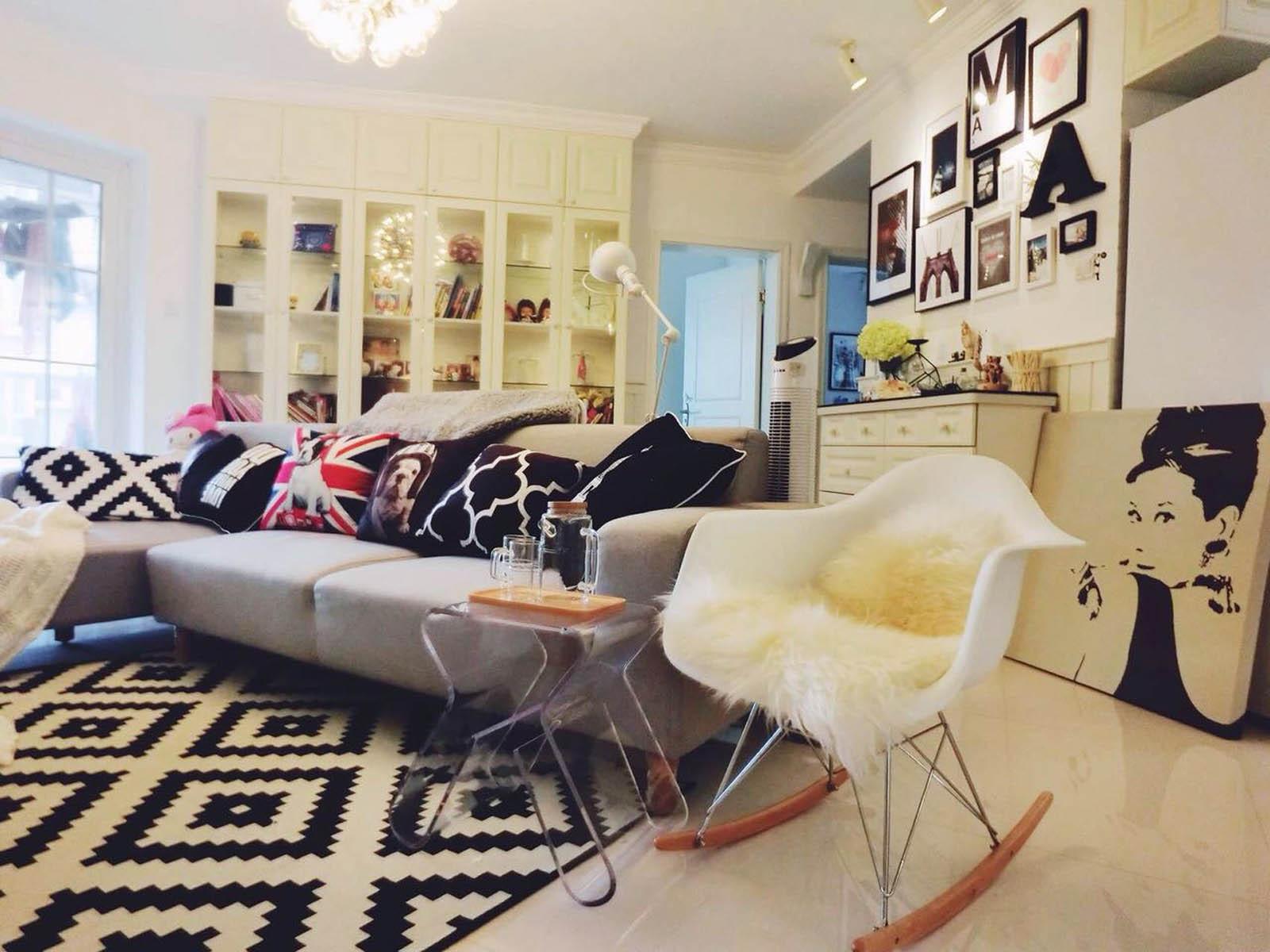 小户型北欧之家地毯图片