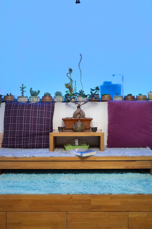 70平地中海风格家阳台布置图