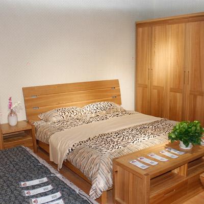 居美印尚 榆木系列 北欧现代风格卧室四件套