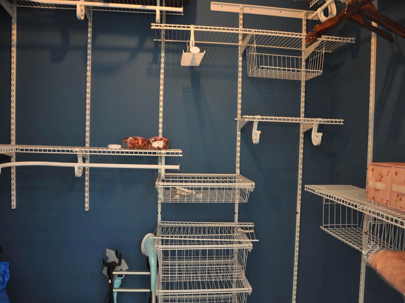 简约美式二居装修储物间图片
