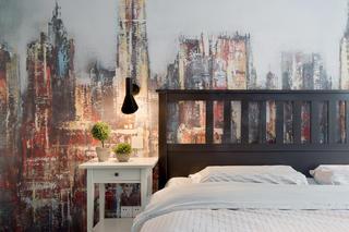 108平现代北欧之家床头背景墙图片