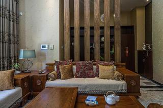 新中式风格别墅装修沙发图片
