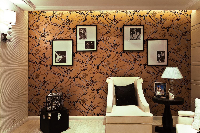 新古典别墅装修沙发背景墙图片