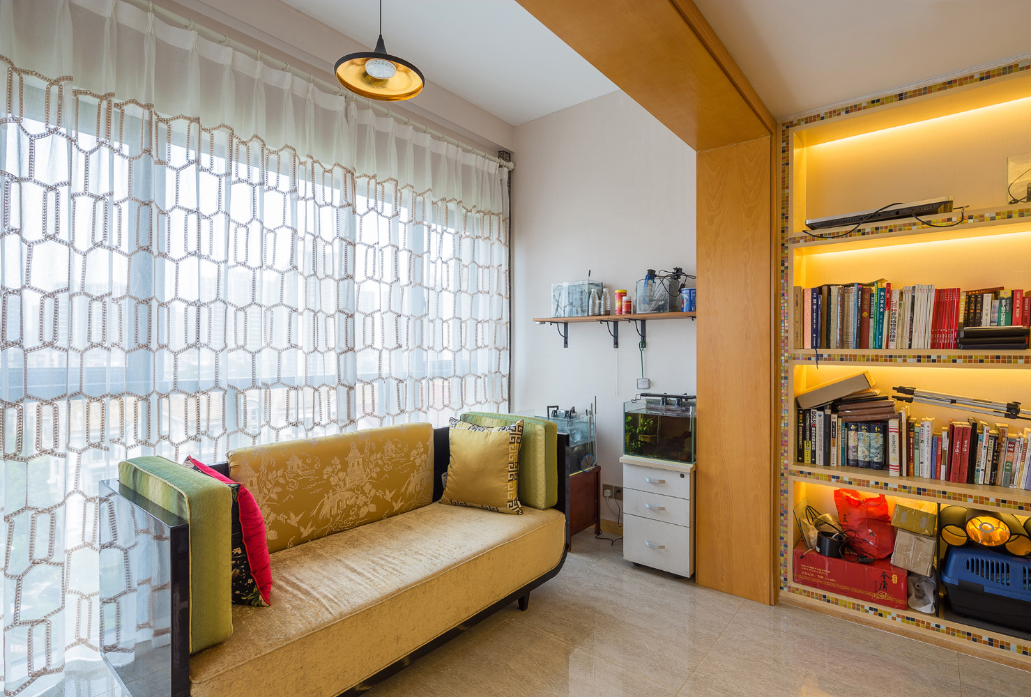大户型中式风格家书房欣赏图