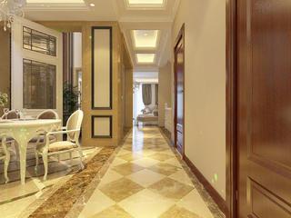 新古典欧式风情别墅装修过道图片