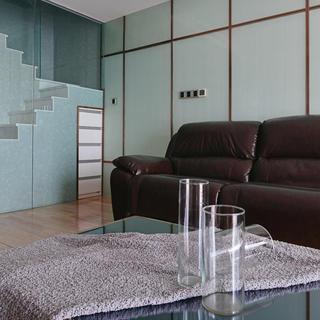 90平极简主义二居装修设计图