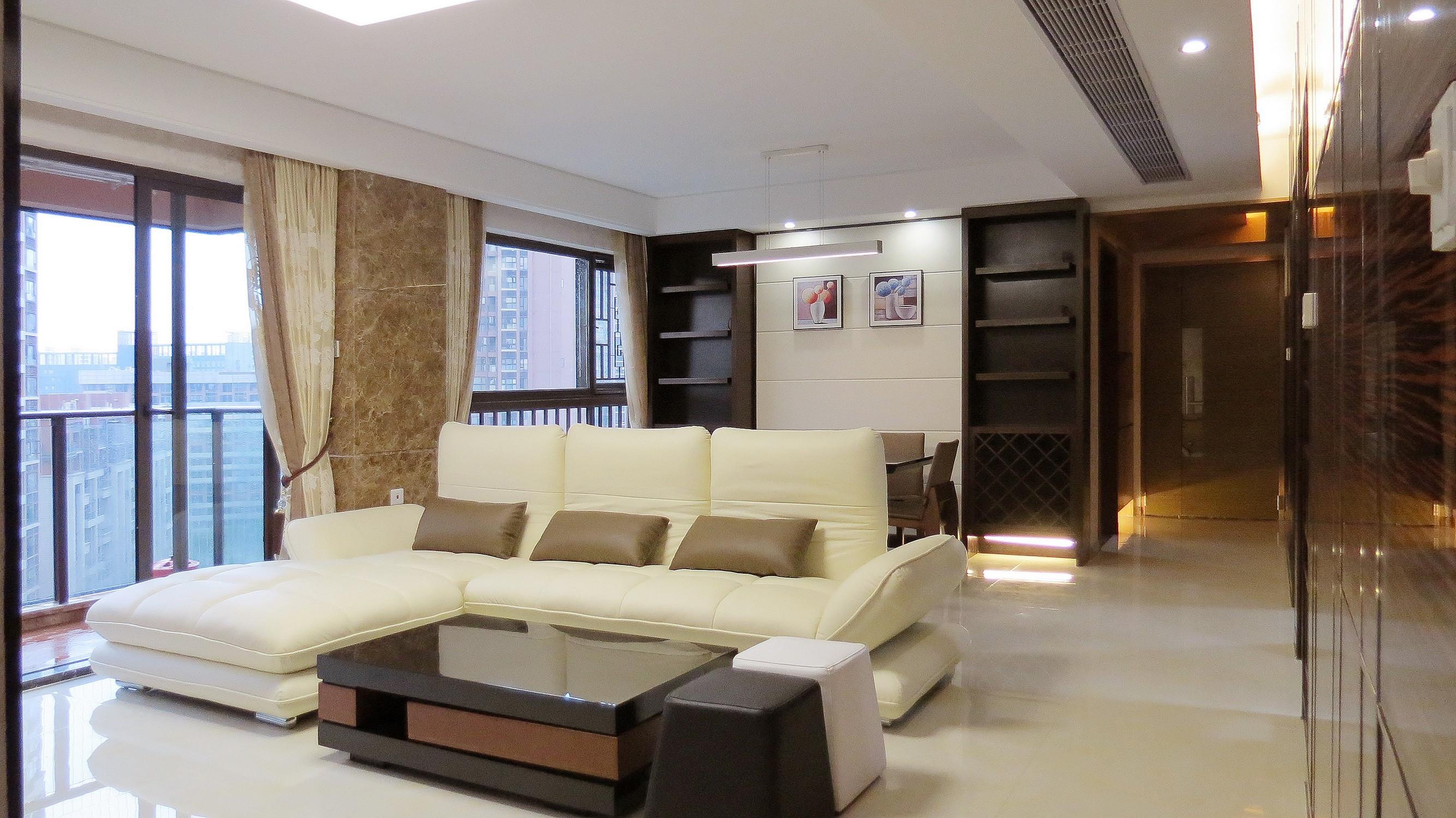 114平现代简约风格装修沙发图片