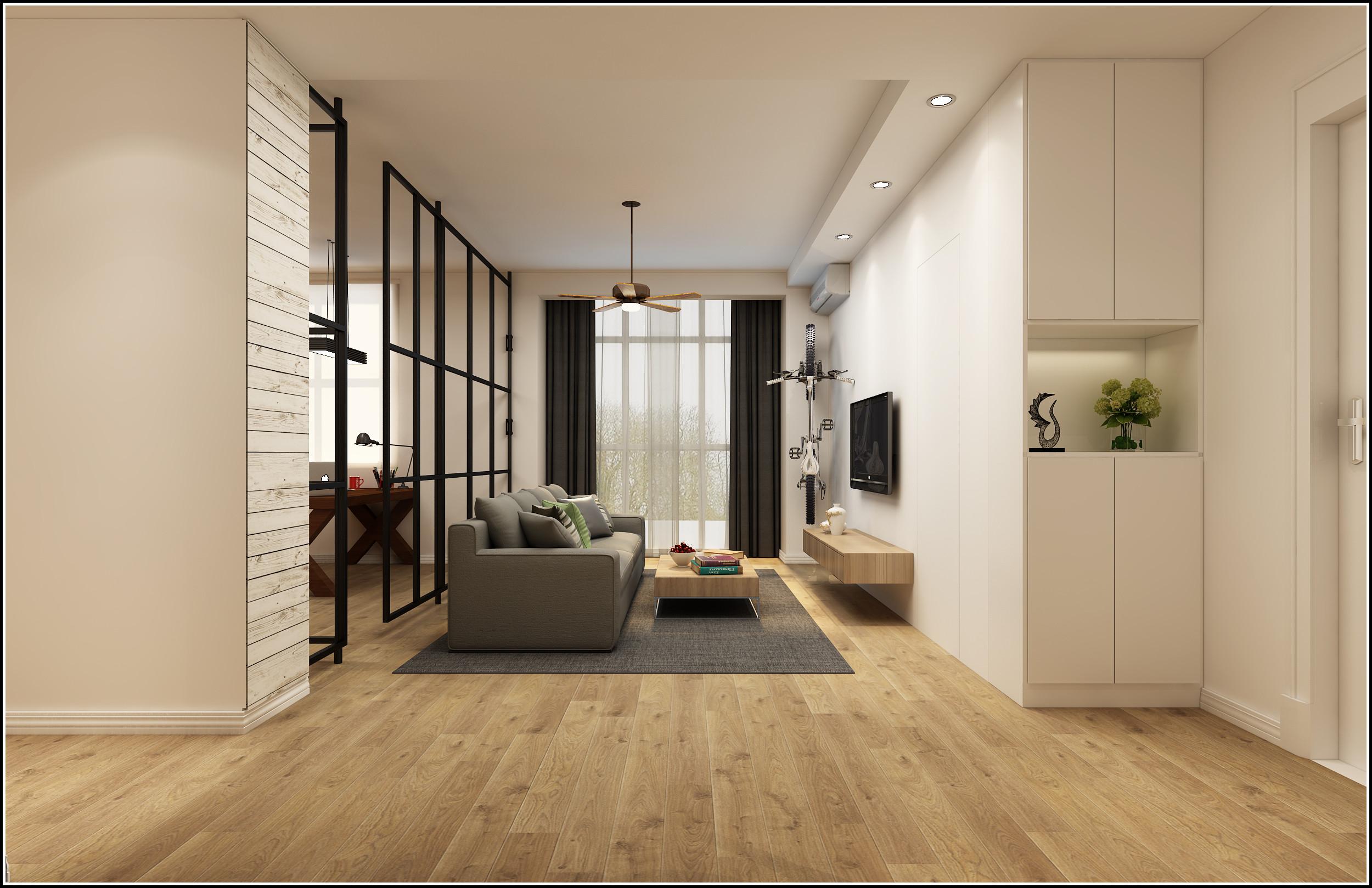 北欧风格别墅客厅旧房改造设计图