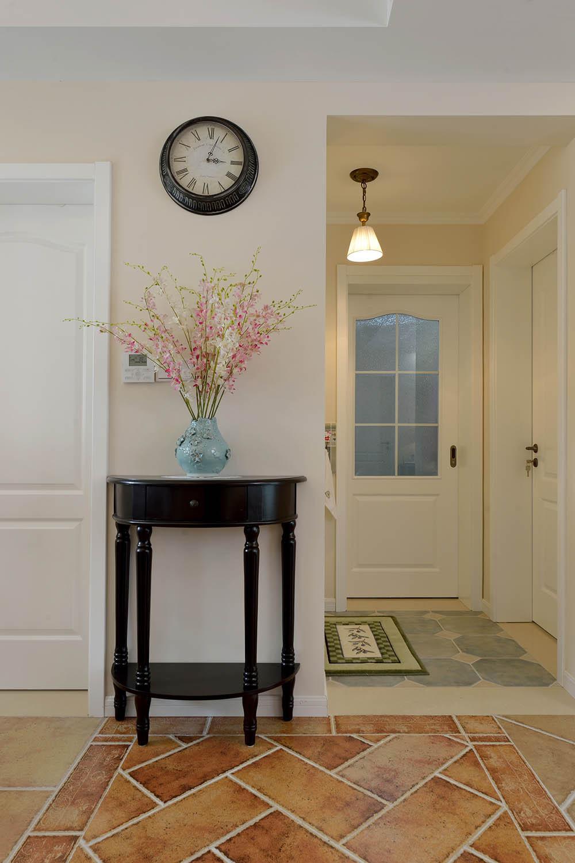 92㎡美式风格家玄关柜图片