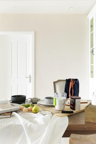 124平现代美式家餐桌图片