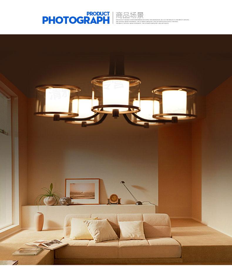 飞利浦led吊灯灯具灯饰现代简约欧式客厅餐厅卧室美伦五头灯