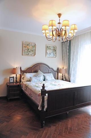 大户型美式风格装修卧室布置图