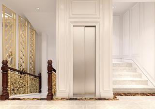 法式轻奢风格别墅装修楼梯图片