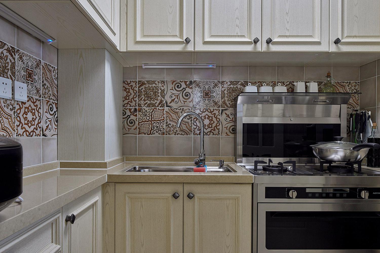 简美二居装修厨房效果图