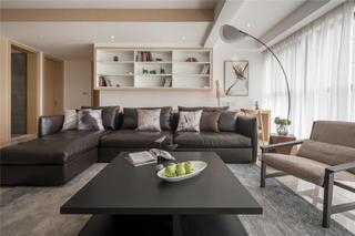 现代简约风格二居沙发图片