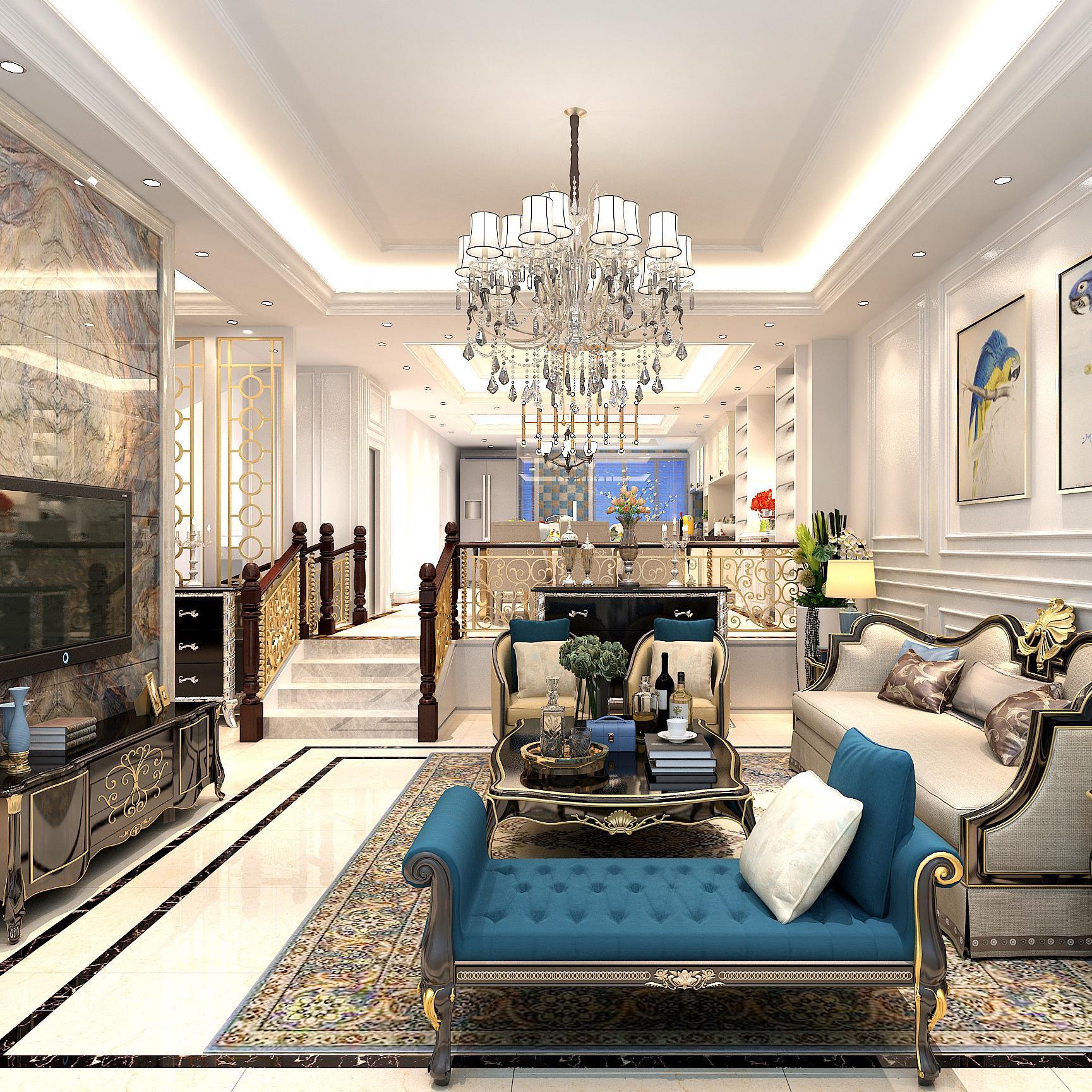 热搜效果图库 别墅窗帘装修效果图 共200套案例  0 混搭风格两居装修