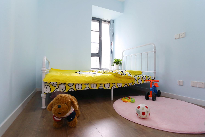 110平北欧风格家儿童房效果图