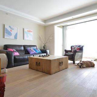 三居室中式风格家 温和素净