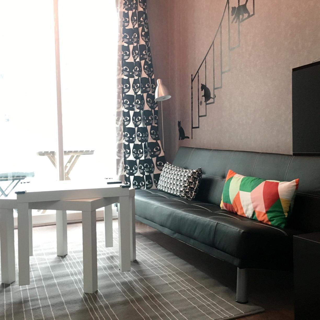 北欧小户型装修 猫咪之家