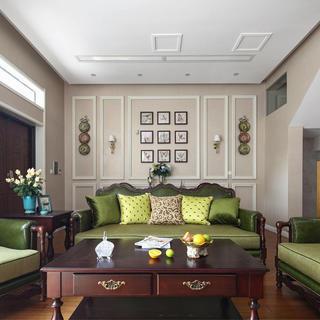美式风格别墅装修 温馨舒适