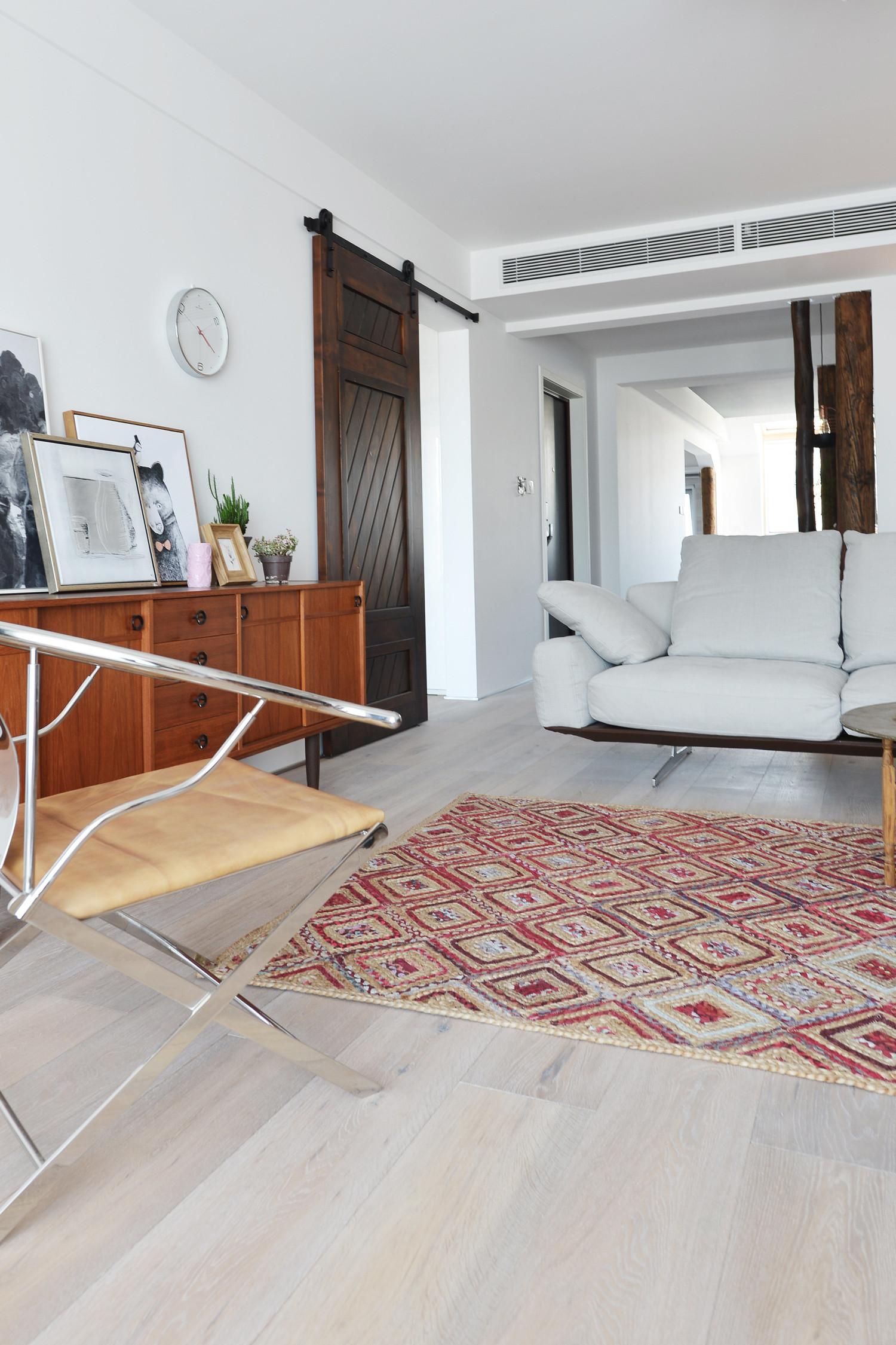 120平北欧风装修沙发图片
