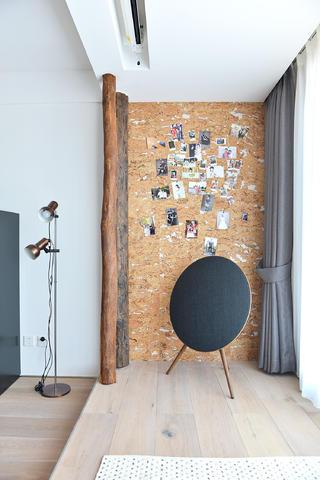 120平北欧风装修照片墙设计