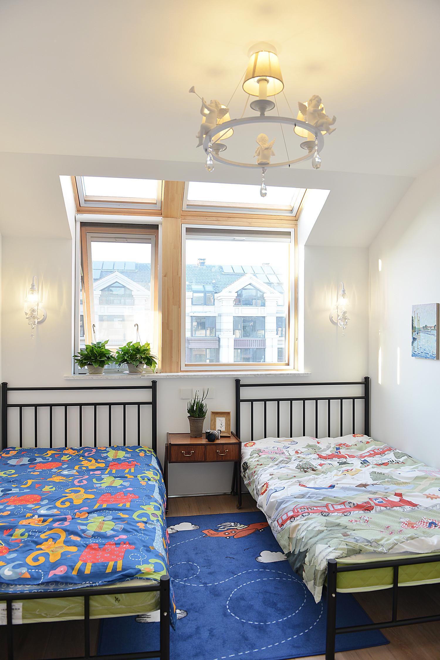 120平北欧风装修儿童房效果图