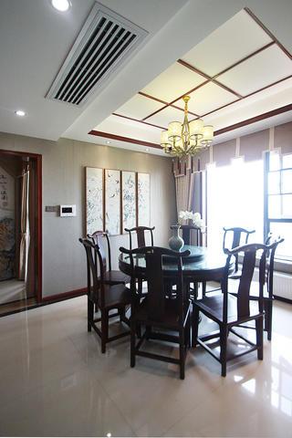 中式风装修餐厅布置图