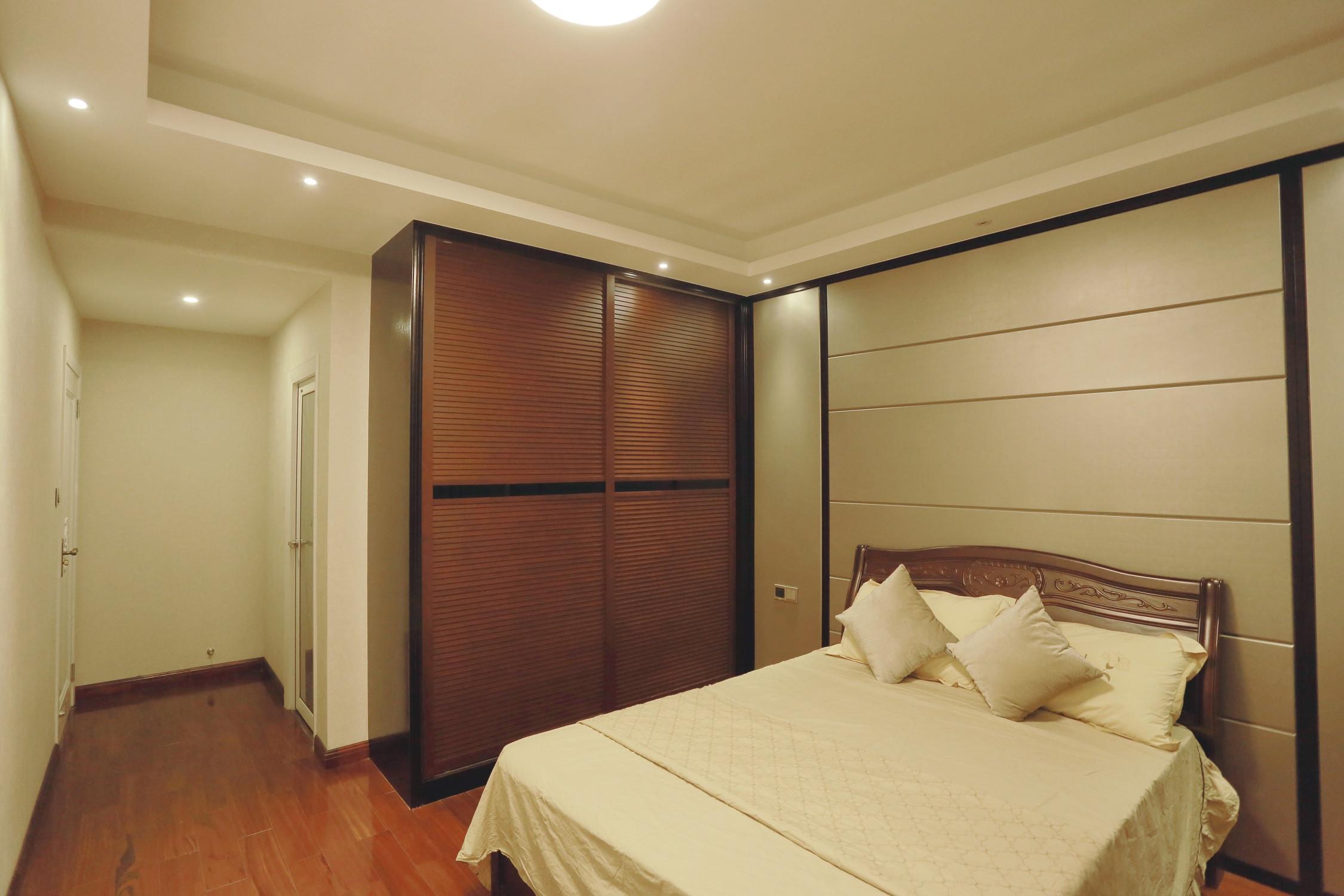 新中式风格三居卧室设计图