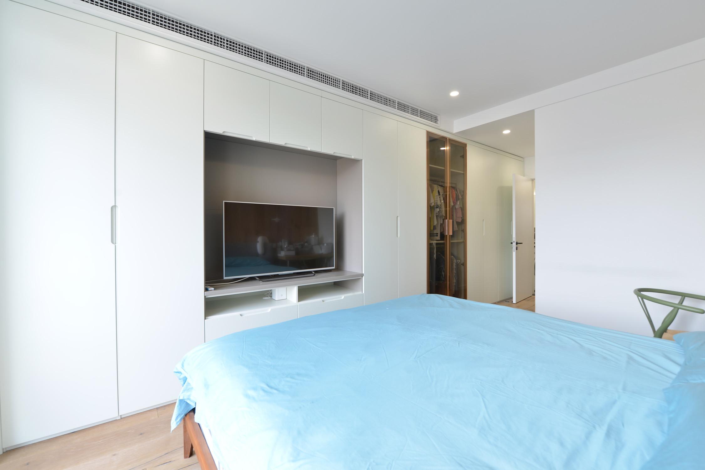 二居室北欧风格家电视柜图片