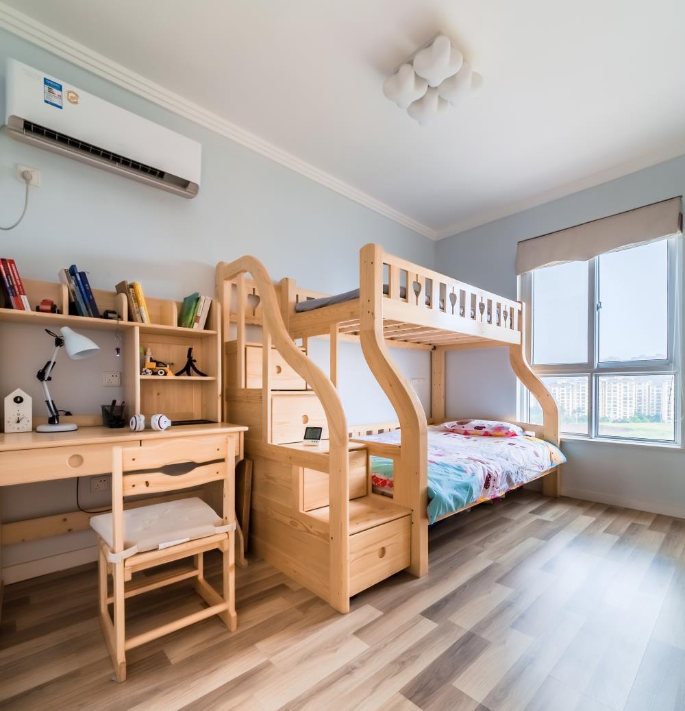 简约二居室之家儿童房设计