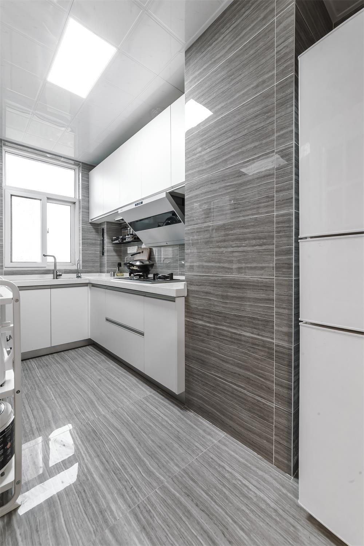 简约二居室之家厨房装潢图