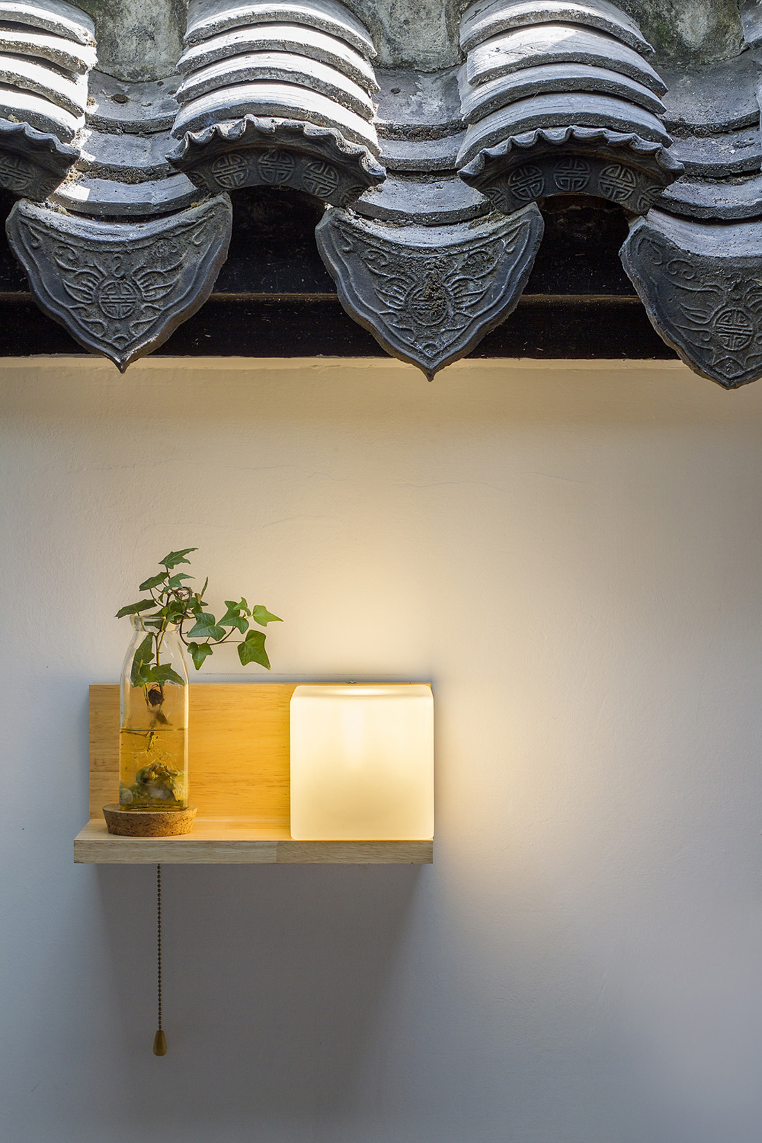 混搭三居装修壁灯设计