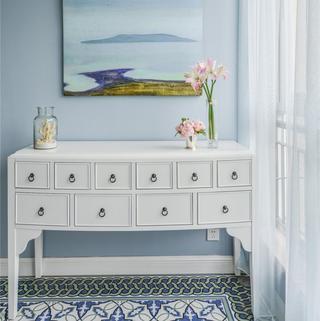 176平美式风格家 蓝色小调