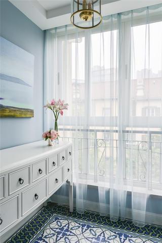 176平美式风格家窗帘图片
