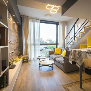 80平北欧二居装修设计图