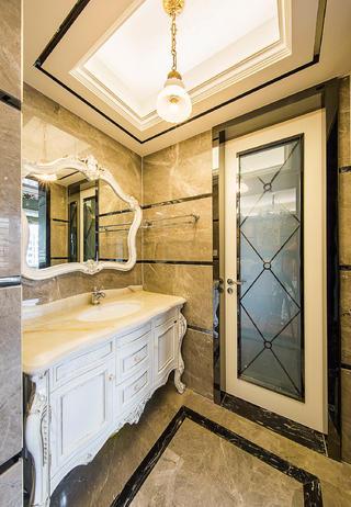 新古典三居室装修洗手台图片