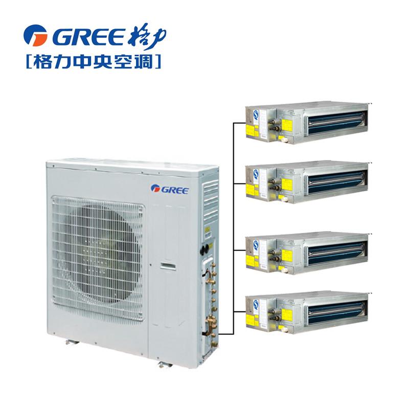 GREE/格力 家用中央空调FREE一拖四5P匹直流变频GMV-Pd120W/NaFC-N1