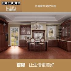 整体实木橱柜|十大品牌橱柜|百隆厨柜