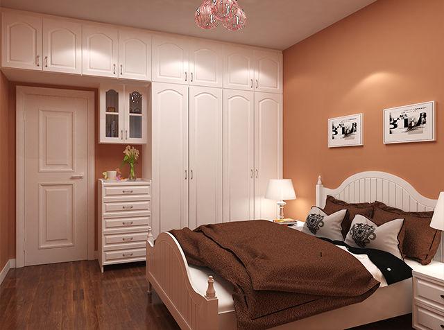蒂莱斯全屋定制 实木多层柜体 雕刻吸塑门 简欧整体家具图片