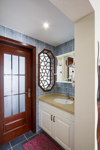 130平中式风格家洗手台图片