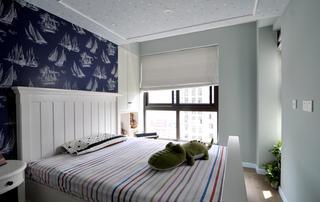 二居室美式风格家儿童房设计图