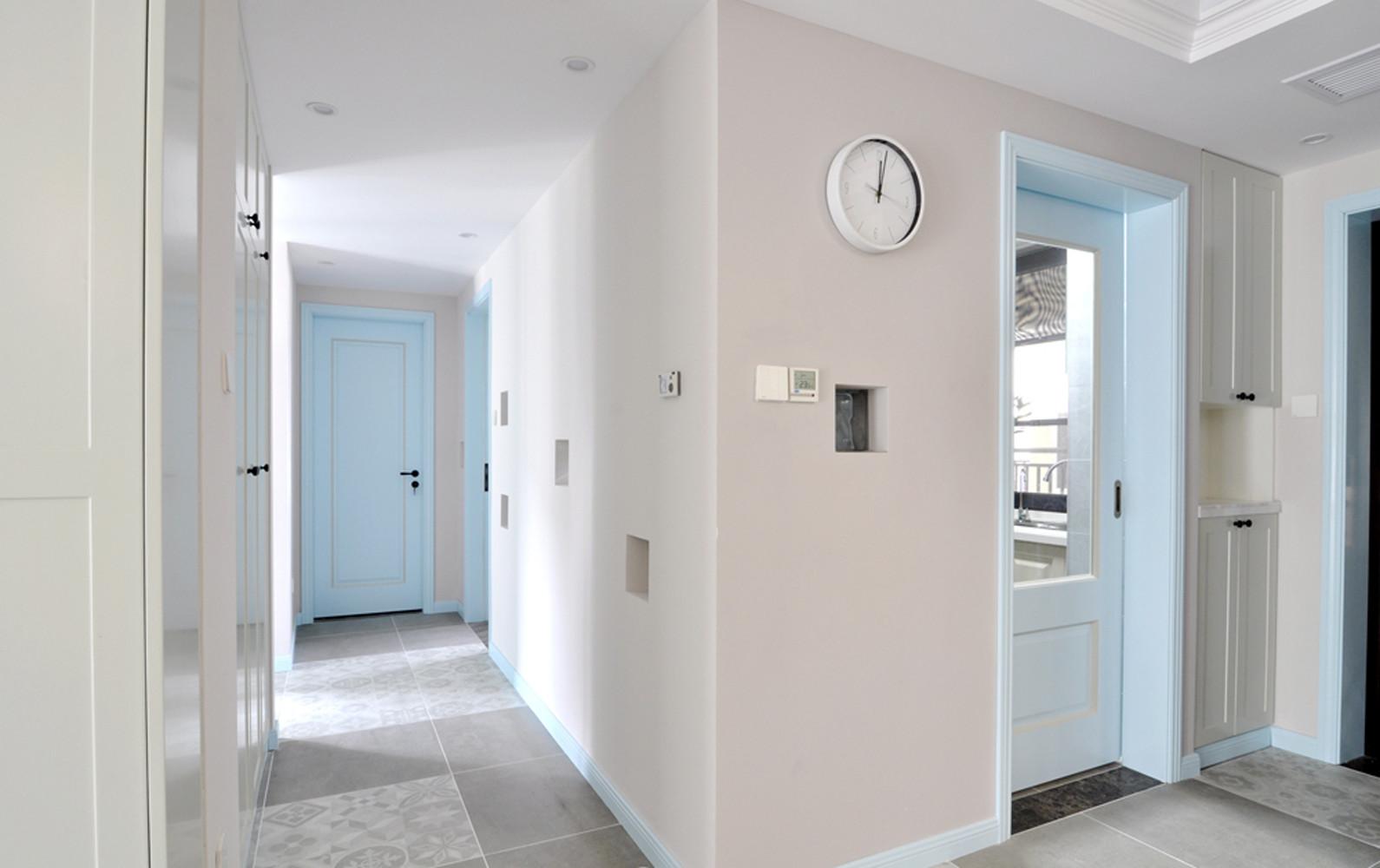 二居室美式风格家门厅过道