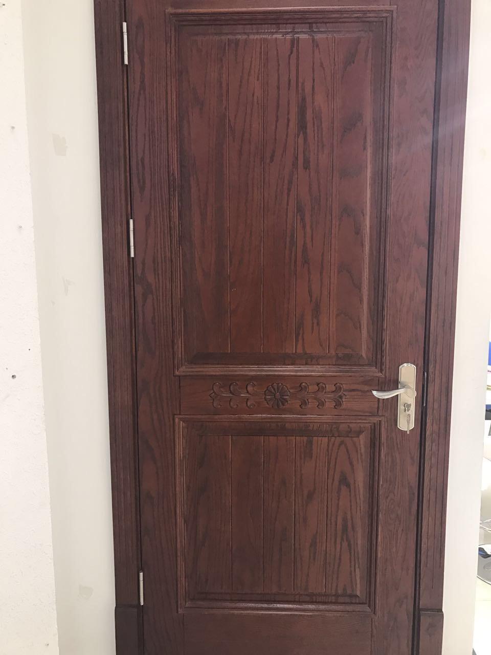 原木(美国红橡)工艺门