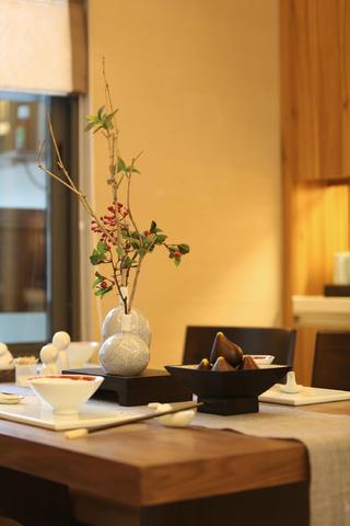 108平中式风之家餐厅小景