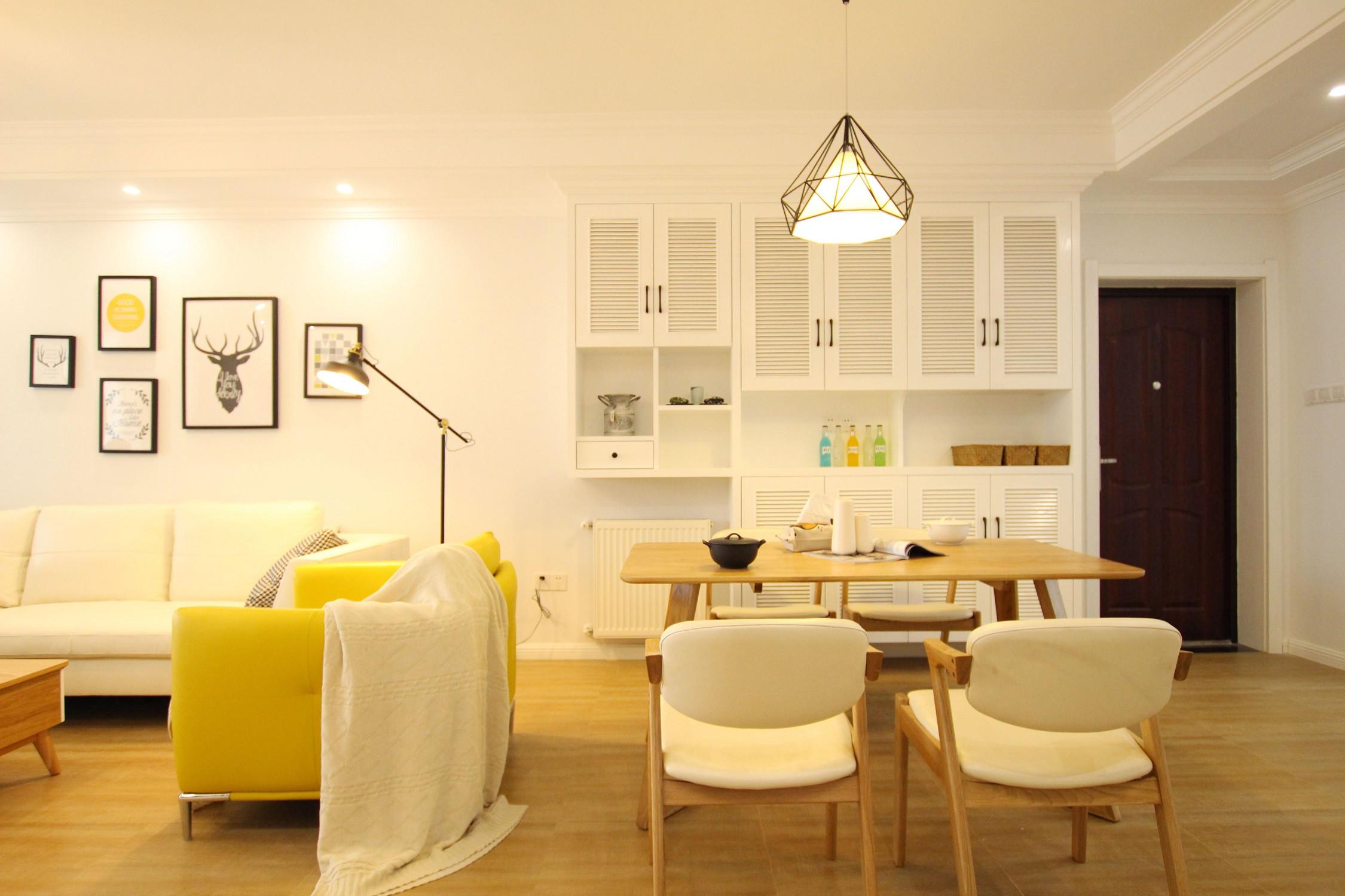 127平北欧之家餐边柜图片